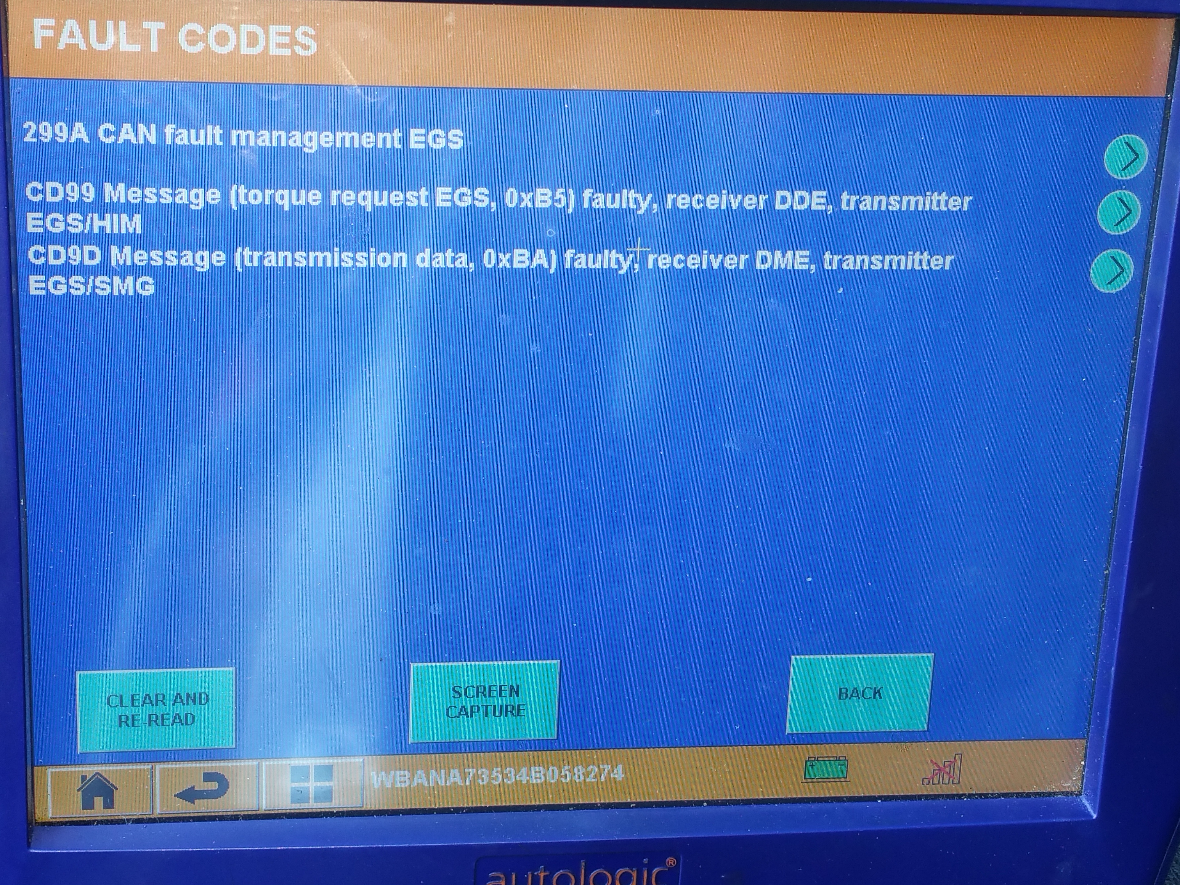 TRANS FAULT, EGS CODES, PLEASE HELP ME TRANSLATE!! - BMW 5
