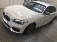 Collection Day New BMW M140i Auto In White / Dakota Red Leather